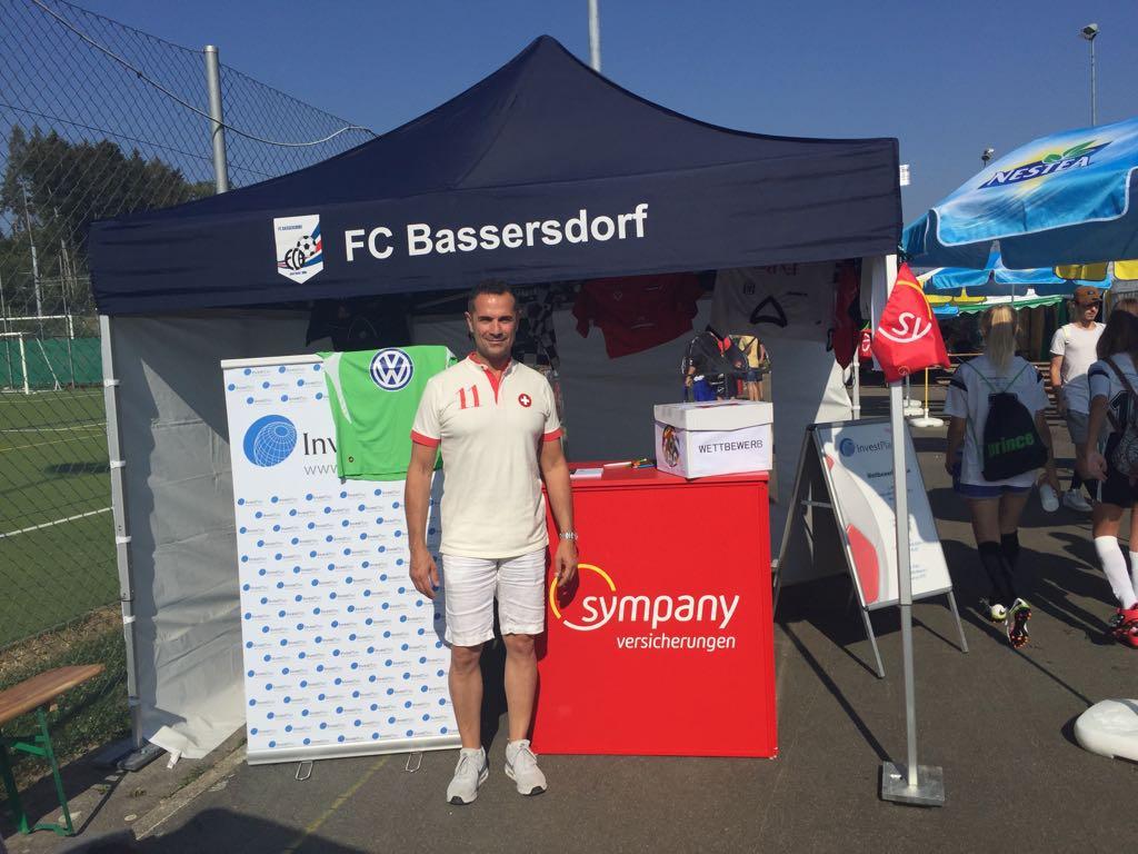 InvestPlan Wettbewerb am Fussballturnier in Bassersdorf